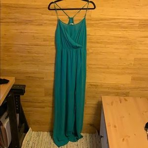 Zara Chiffon Maxi Dress